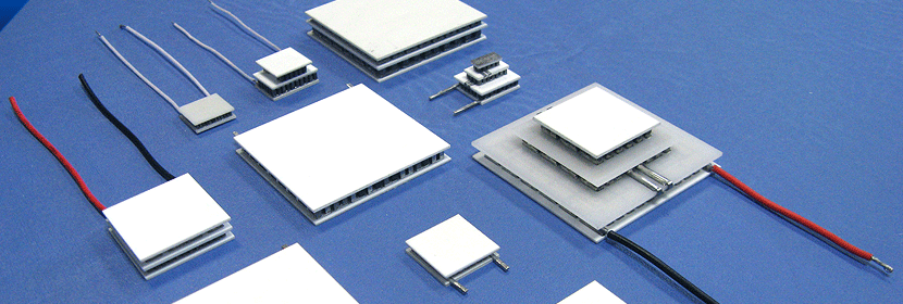 Thermoelectric Modules (TEM), Thermoelectric Generators and Assemblies (TEG), Thermoelectric Assemblies (TEA), Thermal Interface Material (TIM), Heat Sinks